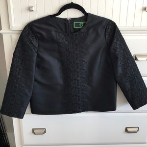 {c wonder} black blouse